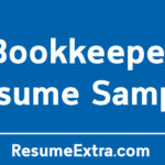 Professional Bookkeeper Resume Sample