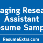 Engaging Research Assistant Resume Sample