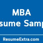 MBA Resume Sample to Make a Positive Difference
