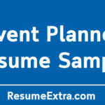 Event Planner Resume Sample and Writing Tips