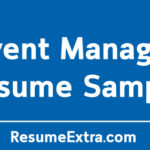 Event Manager Resume Sample and Writing Tips