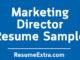 Marketing Director Resume Sample