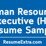 Human Resources Executive (HR) Resume Sample