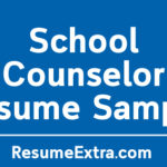 Engaging School Counselor Resume Sample