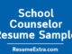 School Counselor Resume Sample
