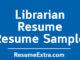Librarian Resume Sample