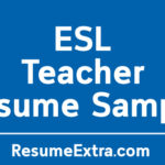 Engaging ESL Teacher Resume Sample