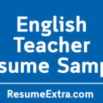 Ideal English Teacher Resume Sample