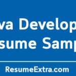 Java Developer Resume Sample and Writing Tips