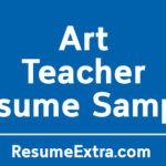 Professional Art Teacher Resume Sample