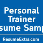 Ideal Personal Trainer Resume Sample