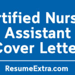 Certified Nursing Assistant Cover Letter Sample