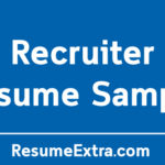 Recruiter Resume Sample and Required Skills