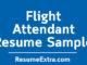 Flight Attendant Resume Sample
