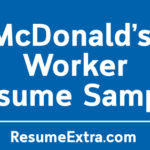 McDonald's Worker Resume Sample and Required Skills