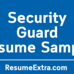 Free Security Guard Resume Sample