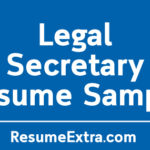 Professional Legal Secretary Sample
