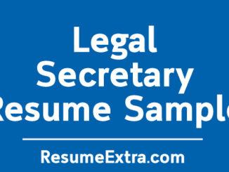 Legal Secretary Sample