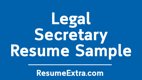 Legal Secretary Sample