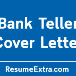 Professional Bank Teller Cover Letter Sample