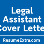 Legal Assistant Cover Letter Sample