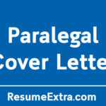 Professional Paralegal Cover Letter Sample