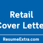 Professional Retail Cover Letter Sample