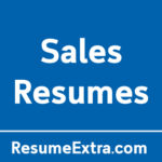 Top 20 Resume Examples for Sales Industry