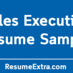 Sales Executive Resume Sample and Required Skills