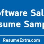 Software Sales Resume Sample and Required Skills