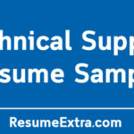 Technical Support Resume Sample and Required Skills