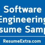 Software Engineering Resume Sample