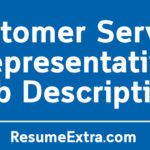 Customer Service Representative Job Description Sample
