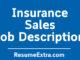 Insurance Sales Job Description Sample
