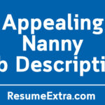 Appealing Nanny Job Description Sample