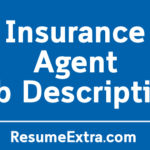 Insurance Agent Job Description Sample