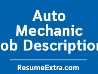 """Auto Mechanic Job Description Sample"" is locked Auto Mechanic Job Description Sample"