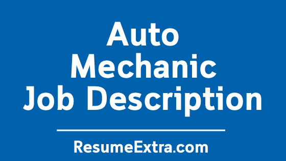 """Auto Mechanic Job Description Sample"" is locked Auto Mechanic Job Description Sample"