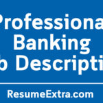 Professional Banking Job Description Sample