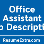 Office Assistant Job Description Sample