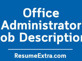 Office Administrator Job Description Sample