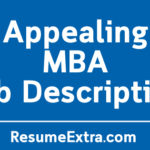 Appealing MBA Job Description Sample