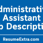 Administrative Assistant Job Description Sample