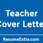 Appealing Teacher Cover Letter Sample