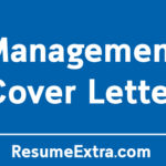 Appealing Management Cover Letter Resume Sample