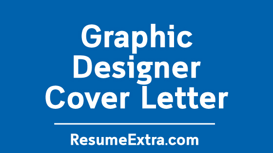 Graphic Designer Cover Letter Sample
