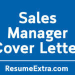 Sales Manager Cover Letter Sample