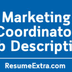 Marketing Coordinator Job Description Sample