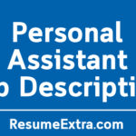 Personal Assistant Job Description Sample