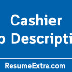 Free Cashier Job Description Sample
